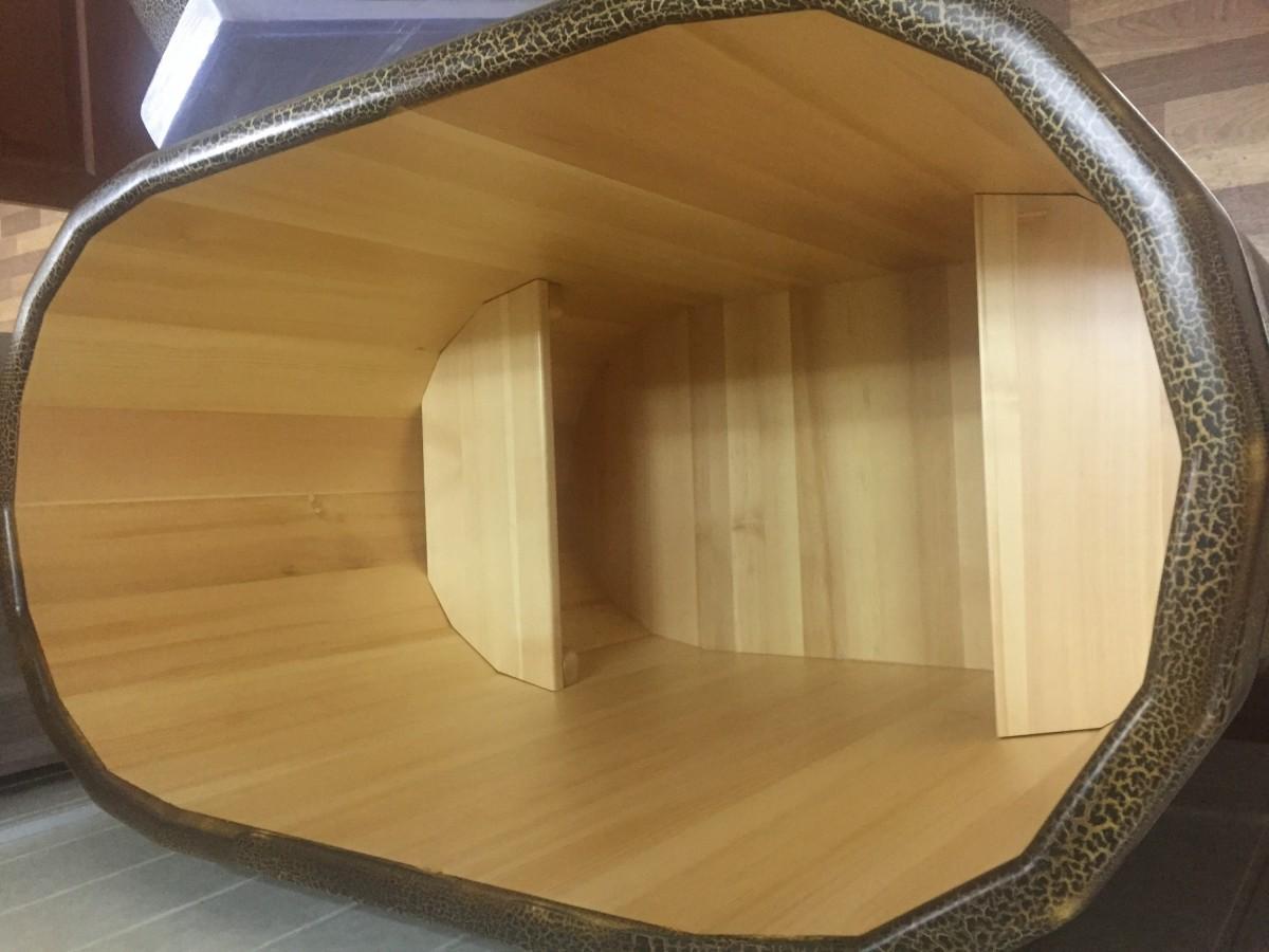 купель кракелюр под старину кракелюр, размеры 69х130 см, высота : 100 см, 120 см
