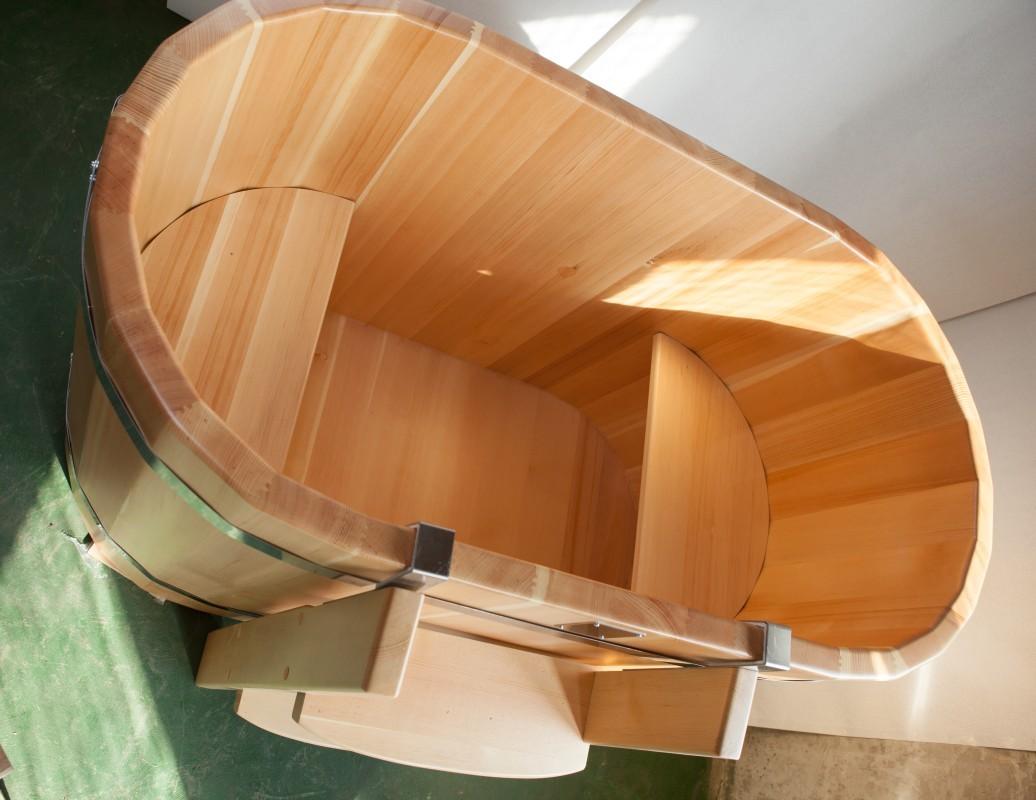 Купель из кедра 100х69х130 (высота 100)