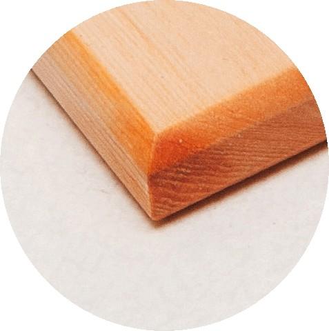 Доска разделочная материал Кедр Сибирский Размер доски 26х40*1,5 см