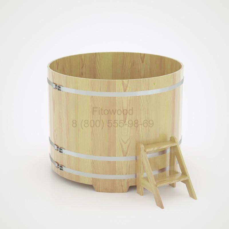 Купель кедровая круглая D=1,17 м
